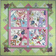 crazy hanky quilt