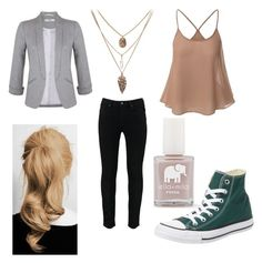 Harper's outfit - James' trial by ramadiii on Polyvore featuring polyvore moda style Miss Selfridge Converse FOSSIL fashion clothing