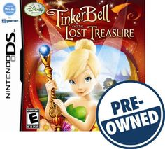 Tinker Bell and the Lost Treasure — PRE-Owned - Nintendo DS