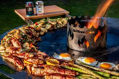 Donat Maker, Wood Grill, Grilling, Bbq, Chicken, Outdoor Decor, Food, Euro, Oven