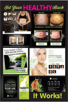 I market a body slimming anti-aging Body Applicator. It's safe,naturla & affordable with results in 45 minutes.  Look at the website & decide for yourself. http://wrapit4u.stbwrap.com