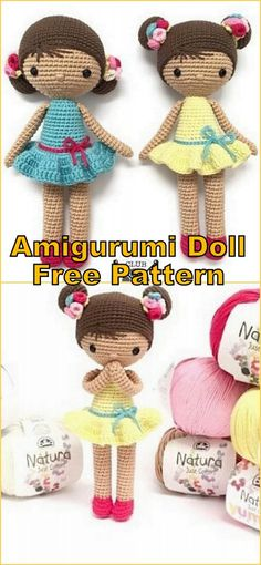 Crochet amigurumi 393713192423473586 - Amigurumi Baby Doll Bun Free Crochet Pattern – Amigurumi Patterns Source by Crochet Dolls Free Patterns, Easy Knitting Patterns, Free Knitting, Crochet Design, Easy Knitting Projects, Crochet Projects, Little Doll, Amigurumi Doll, Doll Amigurumi Free Pattern