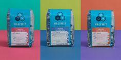 Halfwit Coffee Roasters — The Dieline - Branding & Packaging Design