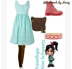 vanellope | outfits