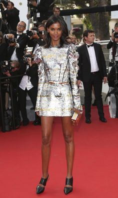 Cannes Film Festival 2015: All of the Best Red Carpet Dresses - Liya Kebede in Louis Vuitton    StyleCaster