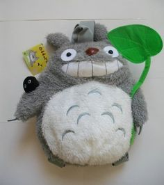 My Neighbor Totoro Gray Soft Plush Backpack ~ Animal Backpacks, Cute Backpacks, Vintage Bags, Etsy Vintage, Totoro Backpack, My Neighbor Totoro, Toy Store, Pet Toys, Purses And Bags