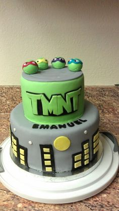 Ninja Turtle #cake