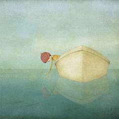la meditazione della barca