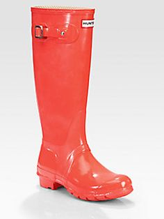 What better way to shine in the new year than with Hunter rain boots? #GiveSaks