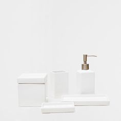 Shiny Bathroom Set