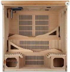 Featured Product Carbon Fiber Sauna with TV! is part of home Gym Sauna Online shopping of high quality Infrared saunas and Traditional Hot Rocks saunas from premium sauna manufacturers Get - Sauna Kits, Sauna Ideas, Home Infrared Sauna, Infared Sauna, Indoor Sauna, Portable Sauna, Steam Sauna, Dry Sauna, Sauna Design