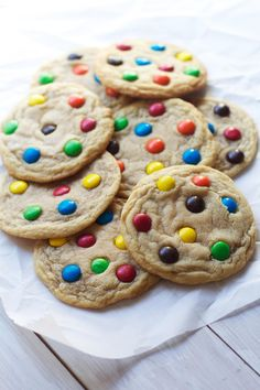 M&M Chewies. Seriously the chewiest. via The Baker Chick