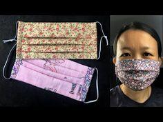 วิธีทำหน้ากากอนามัย แบบ 3 จีบ | หน้ากากอนามัยทำเอง ง่ายๆ | How to DIY mask - YouTube