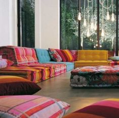 The Roche Bobois Mah Jong Sofa is gorgeous. dmattimoe The Roche Bobois Mah Jong Sofa is gorgeous. The Roche Bobois Mah Jong Sofa is gorgeous. Mah Jong Sofa, Floor Couch, Floor Cushion Couch, Seat Cushions, Round Cushions, Giant Floor Pillows, Funky Cushions, Moroccan Floor Cushions, Sweet Home