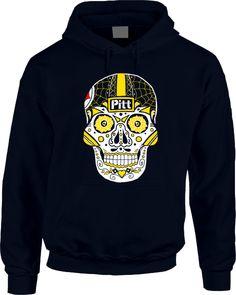 Steelers Sugar Skull Hoodie