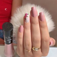 trendy Ideas for nails sencillas largas Acrylic Nail Designs Glitter, Red Acrylic Nails, Pink Nail Art, Pink Nails, Gel Nails, Chic Nails, Classy Nails, Stylish Nails, Simple Nails