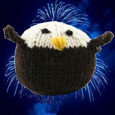 Valley Yarns 412 Knit Bald Eagle (Free) in Valley Yarns at Webs