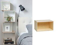 9 snygga väggfasta sängbord perfekta för det lilla sovrummet
