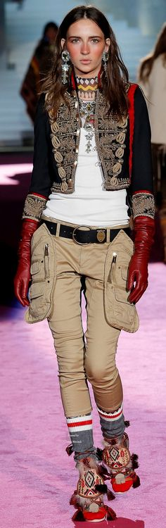 DSquared2 Collections Fall Winter 2015-16 collection