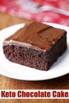 A wonderfully moist and fluffy keto chocolate cake is made with almond flour. Wi… A wonderfully moist and fluffy keto chocolate cake is made with almond flour. Without the frosting, it's wholesome enough to be served for breakfast! Almond Flour Cakes, Almond Flour Recipes, Almond Flour Desserts, Baking With Almond Flour, Keto Desserts, Dessert Recipes, Sugar Free Desserts, Holiday Desserts, Keto Chocolate Cake