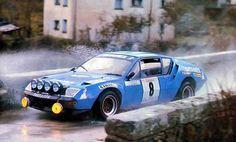 Ragnotti finalizó tercero en el Rally de Córcega con su Alpine A310