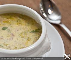 Hackfleisch - Lauch - Suppe