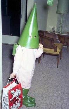 Fear the wrath of...The Green Traffic Cone!