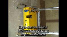 Automatic render machine no mortar running machine testing;