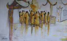 FINEARTSEEN - View The Monks by Ta Thimkaeo. A beautiful traditional original painting. Available on FineArtSeen - The Home Of Original Art. Enjoy Free Delivery with every order. << Pin For Later >> Impressionist Landscape, Landscape Paintings, Acrylic Paintings, Vango Art, Original Art, Original Paintings, The Monks, Paintings For Sale, Fine Art Photography