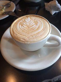 Café Besalu - Seattle, WA, United States. Hazelnut latte