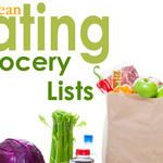 Clean Eating Grocery Lists