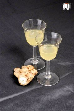 Quick Cheap Tasty : Ginger liqueur