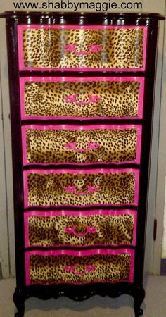 Betsey Johnson Inspired Boroque Dresser/Lingerie by ShabbyMaggie, $499.00....no...I can do this myself