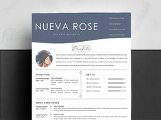 Creative Resume Template 4 Pages by ResumePro on College Resume Template, Modern Resume Template, Creative Resume Templates, Resume Action Words, Resume Words Skills, Cv Template Word, Cover Letter Template, Teaching Resume, Resume Writing