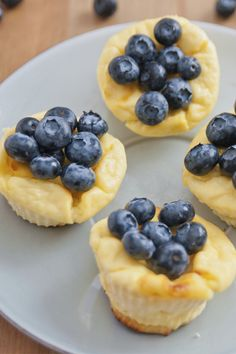 These low calorie cheesecake are a healthy twist to your favorite dessert.