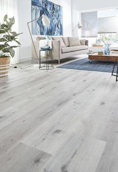 Wooden Floors Living Room, Living Room Grey, Living Room Decor, Interior Design Living Room, Living Room Designs, Grey Wooden Floor, Floor Design, House Design, Grey Flooring