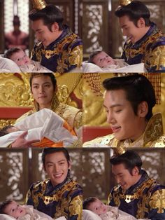 "Empress Ki ep. 35 ... The first thing I thought of when I seen these pictures was ""look what I made"" lol ... Waiting until after finals to watch this drama and the wait is killing me!"