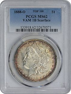 1888 O Morgan VAM 1B Scarface Dollar MS62 PCGS ** You can find more details by visiting the image link.