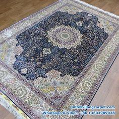 Persian rug, Persian carpet, Handmade rug is supplied by Henan Yilong Carpet Co. Silk Carpet, Carpet, Oriental, Weavers, Handmade Rugs, Rugs, Oriental Persian Rugs, Bohemian Rug, Rug Making