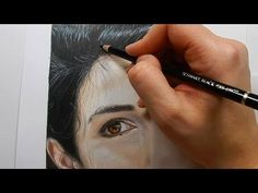 Coloring skin and hair with colored pencils - Part 2 | Emmy Kalia - YouTube