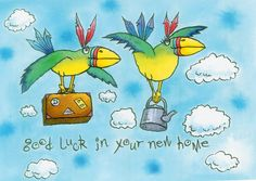 ♥ Good Luck in Your New Home! ♥