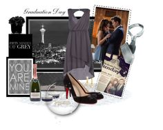 """Fifty Shades of Grey"" by leanne-mcclean ❤ liked on Polyvore featuring Trilogy, Chanel, MET, Christian Louboutin, Hervé Gambs and Belpearl"