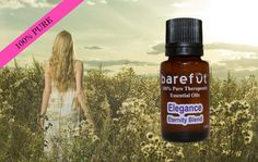 *** 40% OFF Elegance Eternity Blend *** 24 Hour FLASH Sale:  https://barefut.com/?a=420 Blend barefūt's Elegance Eternity Blend with your favorite carrier oil to treat you skin with this anti-aging and restorative blend of essential oils! This blend is also amazing in the diffuser! Ingredients: Jamarosa Root, Elemi, Ho Wood, Lavender, Cedarwood and Copaiba Order at https://barefut.com/?a=420
