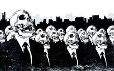 Skulls in the work # roxas & kelod - dishonored #dubstepgutter