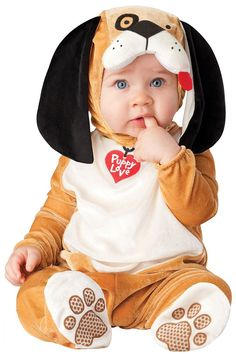 Baby Boys Girls In Character Deluxe Puppy Dog Animal Halloween Christmas Photoshoot Fancy Dress Costume Outfit (18-24 months): Amazon.co.uk: Clothing