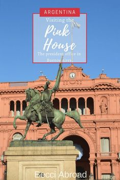 Did you know that you can visit the inside of la Casa Rosada, the iconic pink-painted presidential mansion in Buenos Aires? Group Travel, Family Travel, Travel Info, Travel Articles, Travel Tips, Responsible Travel, Argentina Travel, South America Travel, Travel Couple
