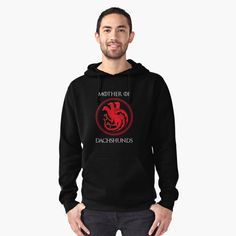 Mother of Dachshund Pullover Hoodie