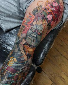 Done for today #tattoo #tattoos #tattooworkers #tattoosnob #tattoolifemagazine…