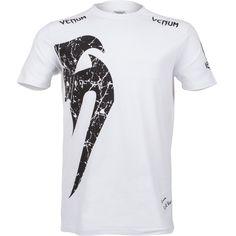 Venum Giant Snake T Shirt - White/Black