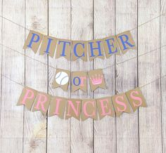 Sweet Baby Boy Banner for a Baby Shower or Gender Reveal Decoration GC038